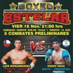 16 de noviembre: Gran velada de boxeo en Talca